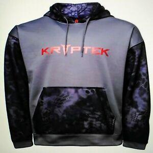 Men's Kryptek Mars, 2XL or 3XL, Typhon/Dk Charcoal, Stealth & Utility Hoodie NEW