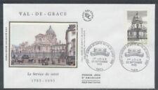 FRANCE FDC - 2830 1 VAL DE GRACE - 25 Sepembre 1993 - LUXE sur soie