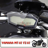 Motor Cluster Scratch Protection Film Screen Protector for YAMAHA MT-07 FZ-07