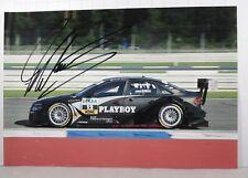 PHOTO cm13x19 signed Markus Winkelhock AUDI A4 DTM ROSBERG #12 HOCKENHEIM 2009