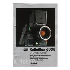 ROLLEIFLEX 6008 * prospetto