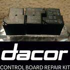 DACOR DIY Relay Board Repair Kit for 62439 92029 82127 92028 82995 82993 82994 photo