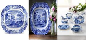Spode Blue Italian Oval Platter
