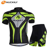 Mens Bike Short Sleeve Clothing Bicycle Sports Wear Cycling Jersey Shorts Pants