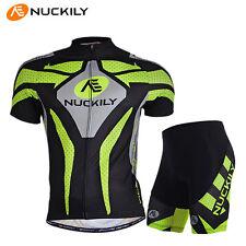 Mens Bike Short Sleeve Clothing Bicycle Sports Wear Cycling Jersey Shorts Pants
