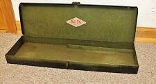 VINTAGE S.K. TOOLS  METAL TOOL CARRY CASE-MADE IN USA