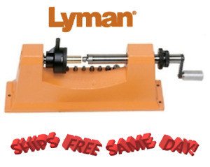 Lyman Universal Case Trimmer Kit with 9 Pilots NEW # 7862000 Brand New!
