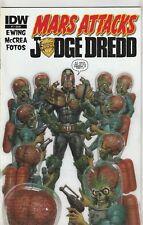 Mars Attacks Judge Dredd #1 NM- 9.2 IDW Comics