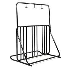Bicycle Parking Storage Rack 1-6 Bikes Steel Park Stand 2/3/4/5 Black New