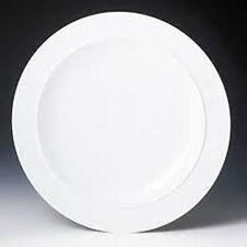 Denby, White, Gourmet Dinner Plate 12.5 inch ~new~