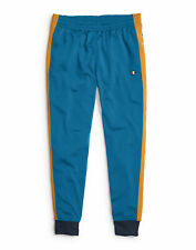 Pantalones de pista campeón de la vida para hombre cintura elástica bolsillos laterales cónicos piernas Suave