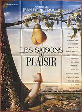 Affiche LES SAISONS DU PLAISIR Audran JEAN-PIERRE MOCKY Bacri 120x160cm