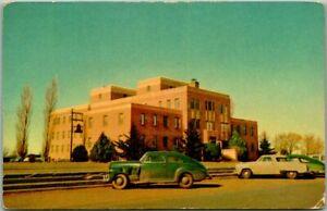 Clovis, New Mexico Postcard CLOVIS MEMORIAL HOSPITAL / Early 1950s Cars - Unused