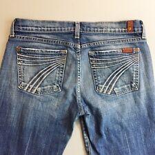 """7 for all mankind women's dojo crop jeans 7 pocket size 28 inseam 23"""""""
