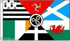 Pan Celtic Nations 5'x3' Flag