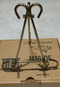 Home Interiors Brass Display Easle Stand