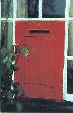 British Postbox Series 55 GVR Wallbox Rhewl Post Office Llangollen 1993 postcard