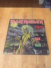 Iron Maiden- Killers LP Capitol Records ST-12141 US 1986 Reissue VG/VG