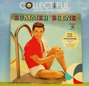 FRANKIE AVALON - SUMMER SCENE - CHANCELLOR 1960 - W/LINER - VG+ LP RECORD 🔥
