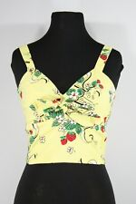 NWT Trashy Diva Berry Chantilly Hottie Top, Size 10