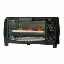 Rival 4-Slice Toaster Oven - Black