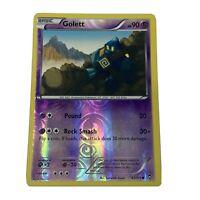 Golett 42/111 XY Furious Fists Reverse Holo 2014 Pokemon TCG Card Nintendo LP