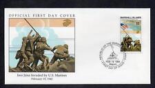 Islas Marshall 1995 Iwo Jima invadida por marines EE. UU. FDC
