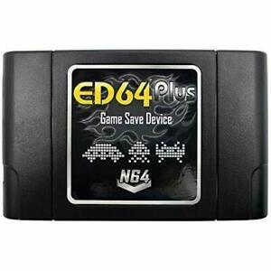 ED64 Plus Game Save Device Cartridge USA-JAPAN-EUROPE N64 GAMES US