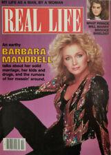 Real Life Magazine October 1984 Barbara Mandrell - Brooke Shields - No Label NM