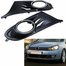 For 2010-2014 VW MK6 Golf Lower Bumper Fog Light Lamp Grille Cover Left + Right