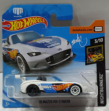 HOT WHEELS 2018 `15 MAZDA MX-5 MIATA NIGHTBURNERZ 3/10 FJX66