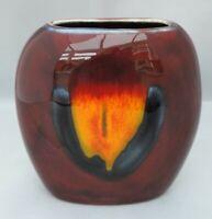 Small Anita Harris Purse Vase - stamped ahs to base