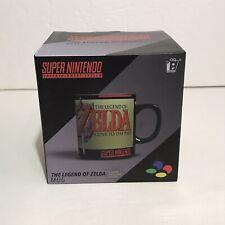 The Legend Of Zelda Mug Super Nintendo SNES Paladone Coffee Cup NEW