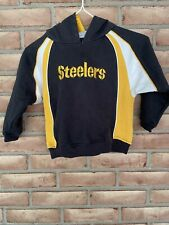 Pittsburgh Steelers Kids NFL Hoodie Sweatshirt Black Size 4T