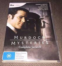 Murdoch Mysteries DVD Boxset The Complete Series 8 (Season Eight) PAL REGION 4