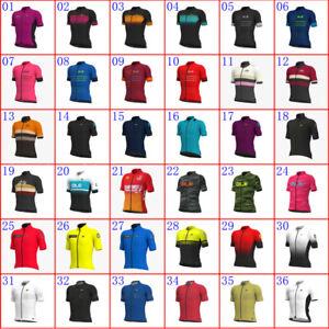 2021 Cycling Jersey Mens Short Sleeve Team Bike Top Cycling Shirt Racing Clothes