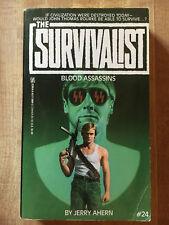 SURVIVALIST #24 Blood Assassins Jerry Ahern 1st 1992 Great Cover Art L@@K WOW!!!