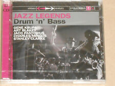 JAZZ LEGENDS -Drum 'N' Bass- (Krupa, Blakey, Pastorius, Clarke...) 2xCD NEU, OVP