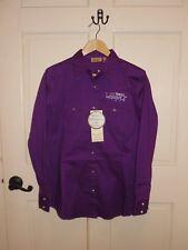 WRANGLER AQHA Womens Size M Purple Long Sleeve Snap Western Shirt LW1006P NWT