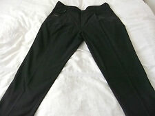"""DOLCE & GABBANA made in Italy MENS Loose fit/ CROPPED LEG PANTS 52 W36"""" L 26"""""""