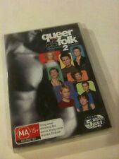 'QUEER AS FOLK' 2nd Season Region 4 : 5 Disc DVD - US Version - Second 2