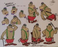 Hanna Barbera:Magilla Gorilla Hand Painted Model Cel Signed by Bob Singer