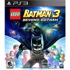 Lego Batman 3 Beyond Gotham PS3 Greatest Hits - Disc, Case, And Manual!  Nice!