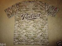 a1491e94c Andrew Cashner Camo Padres Baseball Jersey Shirt XL Extra Large SGA ...