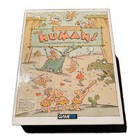 "The Humans PC IBM Game Gametek 3.5"" & 5.25"" Floppy Disks Complete w/ Poster 1992"