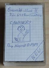 Kingsoft emerals mina II cassette Tape Commodore 16 c16 Plus/4 funciona