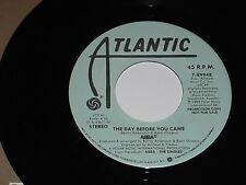 ABBA-The Day Before You Came (1982) DJ/Promo ATLANTIC 45 w/Stock Sleeve