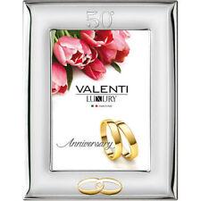 Cornice Valenti 13*18 Nozze D'Oro 50° Anniversario Matrimonio 52009/4L +Specchio