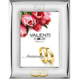 Cornice Valenti 13*18 Nozze D'Oro 50° Per Anniversario Di Matrimonio 52009/4L