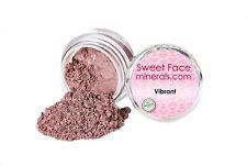 VIBRANT EYE SHADOW Brow Mineral Makeup Bare Skin Plum Brown Liner Powder Sheer